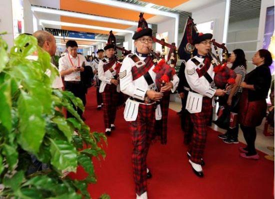 香港警察乐队亮相长春