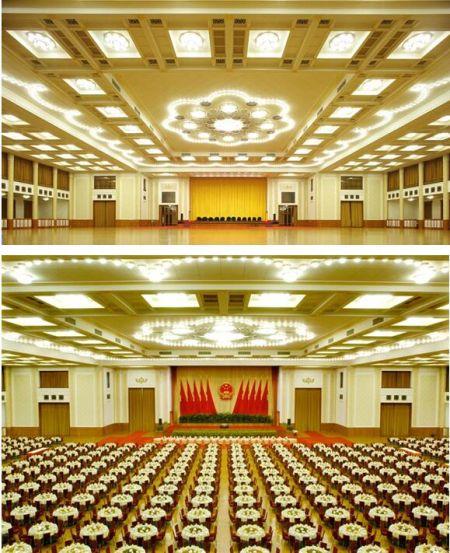 金桥地板人民大会堂照片