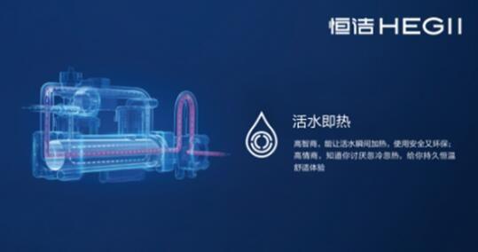 即热式智能马桶应运而生,而恒洁智能双q马桶正是即热式智能马桶的技术