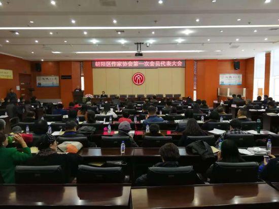 朝阳区作家协会第一次会员代表大会启动仪式现场