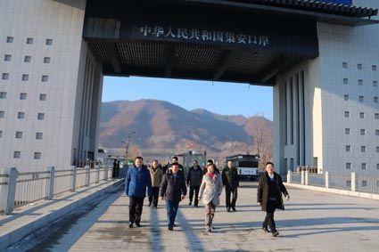 吉林省集安公路口岸通过国家验收
