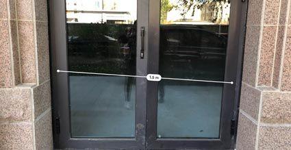"""缩水后的""""门脸""""只有1.5米宽"""