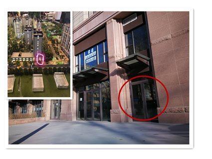 """实景拍摄的门市房与沙盘显示的""""门脸""""不一致"""