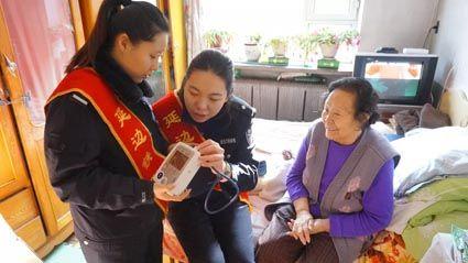 为张奶奶购买的血压器
