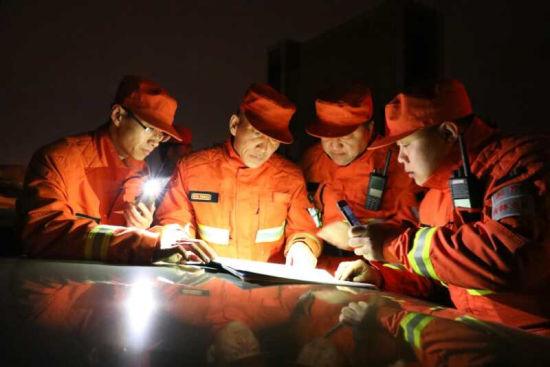 吉林市森林消防支队已经准备好全面声援事情