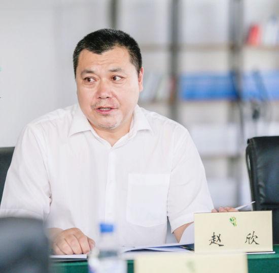 赵欣在介绍吉林省微电影发展现状