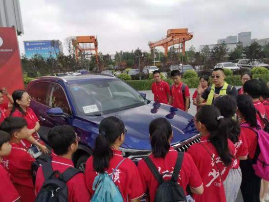 红旗品牌汽车功能体验