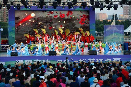 松花江之夏演出现场 吉林市文化广播电视和旅行局供图