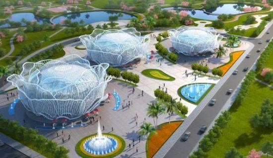 长春恒大文化旅游城国际会展中心效果图