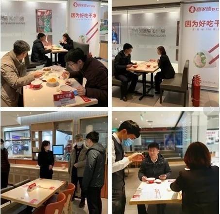刘铭为餐饮行业复工加油打气、站台助威 南关区委宣传部 供图