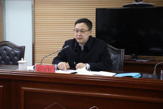 池西区党委书记赵兴利讲话