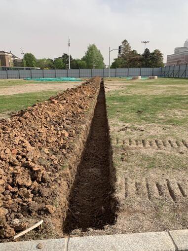 5号线管线挖探