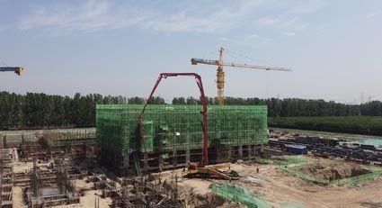 中国二十二冶固安垃圾焚烧发电厂项目全景