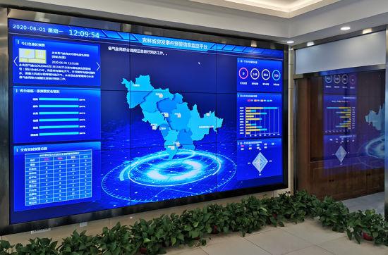 吉林省省预警信息发布中心 刘明奇 摄