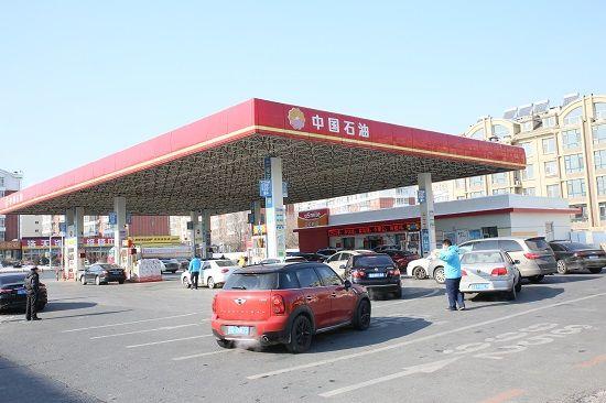 中国石油吉林销售公司近千座加油站全部完成防渗改造 李林燕 摄