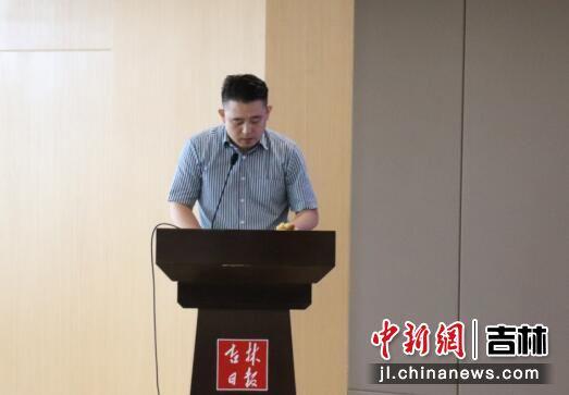 培训项目负责人胡云龙讲话/供图