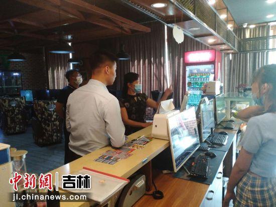 延吉市文广旅局开展行业规范及创城氛围营造 延吉市文广旅局/供图