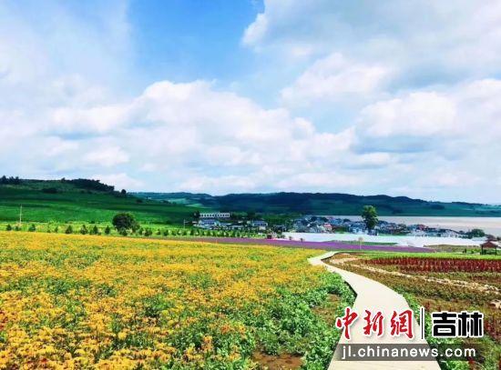 雁鸣湖风景 敦化市文广旅局/供图