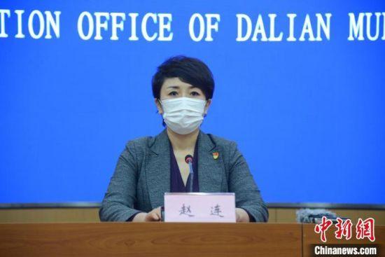 图为大连市卫生健康委副主任赵连。 邹沧海 摄