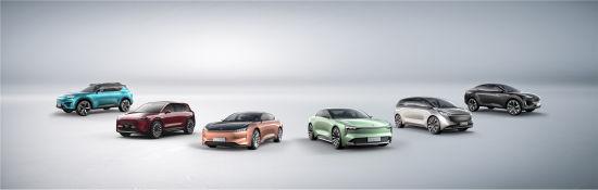 恒驰首期6款车全球发布