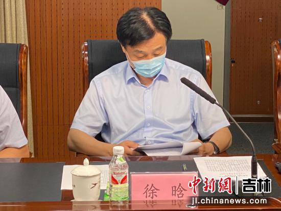 长春市委常委、副书记徐晗。长春农博园/供图