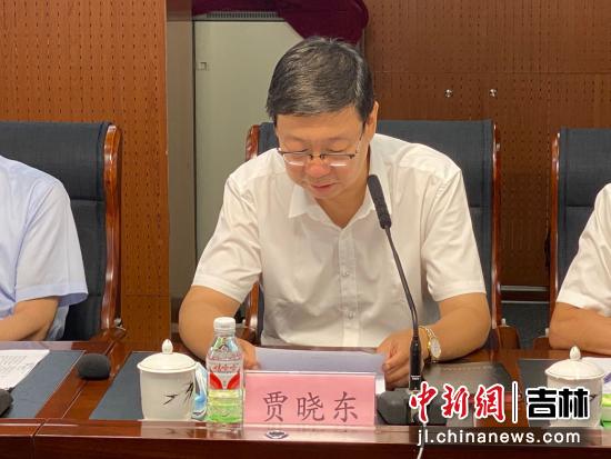 长春市副市长贾晓东。长春农博园/供图