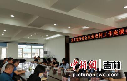 调研座谈会现场 农工党长春市委会/供图