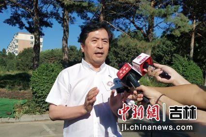 吉林大学中日联谊医院院长 崔树森接受采访 王振东/供图