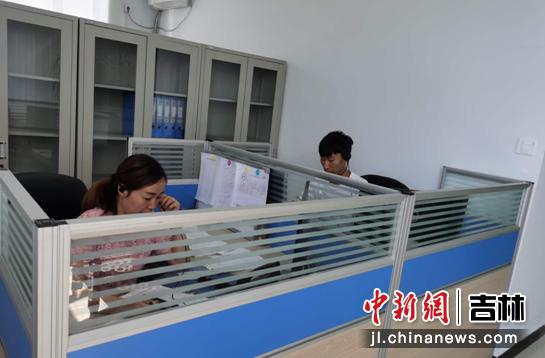 镇赉县政务服务局/供图