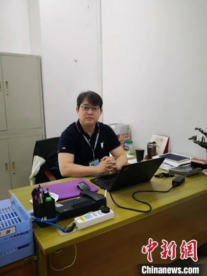 王嘉祥。受访者 供图