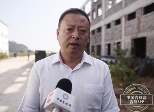 辉南经济开发区党工委书记、主任薛海峰接受采访
