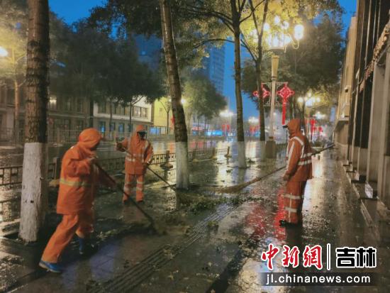 长春市城市管理局供图