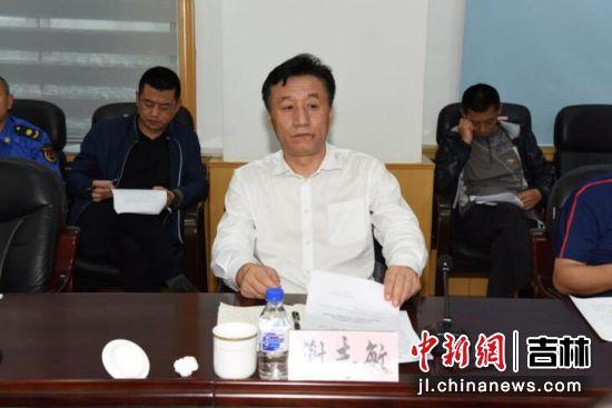 南关区委书记谢志敏讲话 南关区委宣传部供图