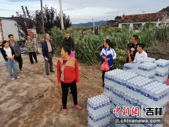 吉林桦甸:3轮台风过境 村民积极