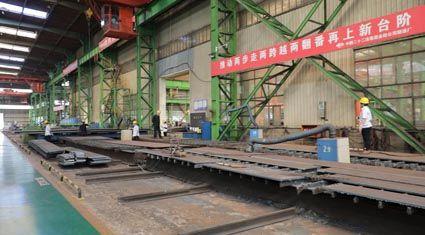 参观中国二十二冶工业园区制造厂