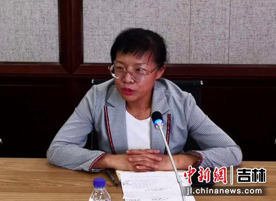 长春市委宣传部副部长宋学兵在会上发言。高龙安/摄