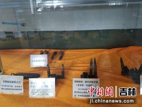 遗址中发掘出的部分物品 刘栋/供图