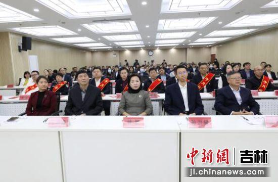 出席活动的领导和嘉宾 净月高新区党工委宣传部/供图