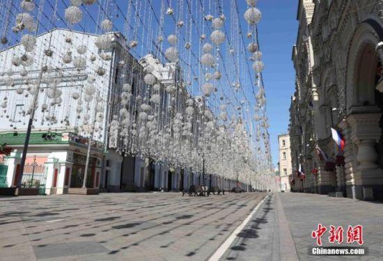 资料图:俄罗斯首都莫斯科。中新社记者 王修君 摄
