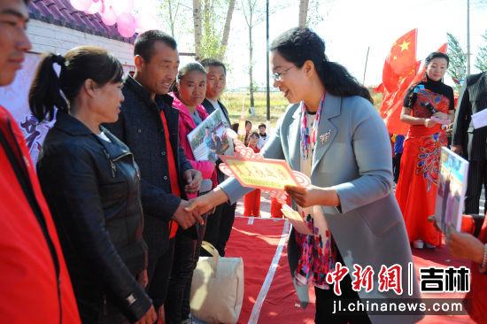 美丽家庭、干净人家评选颁奖 镇赉县委宣传部/供图
