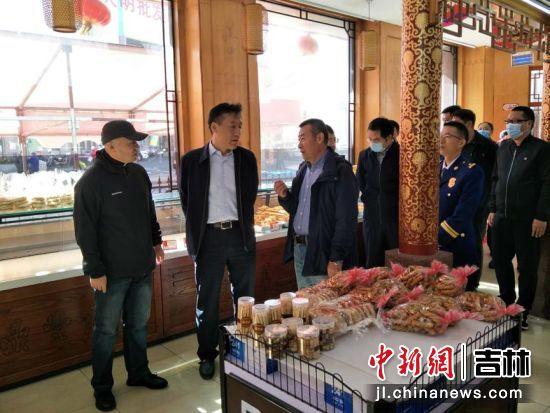 谢志敏带队督查安全生产工作 南关区委宣传部/供图