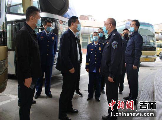 杨大勇带队督查安全生产工作 南关区委宣传部/供图