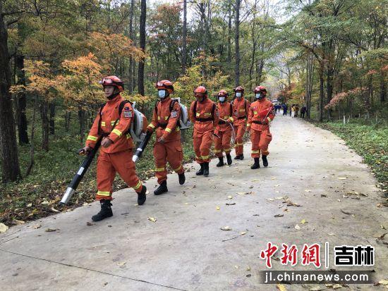 敦化市森林消防大队/供图