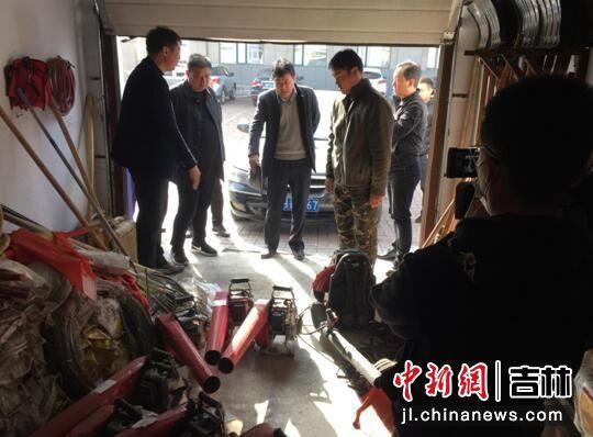 督察组进行防火工作检查 延边州应急局/供图
