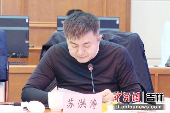 农安县法院院长苏洪涛汇报了县法院党组工作开展情况;