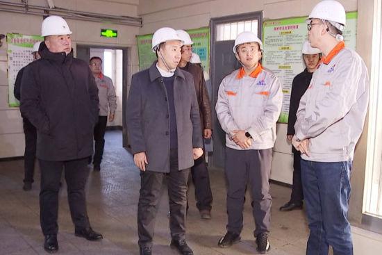 农安县副县长李作新深入供热企业检查安全生产工作