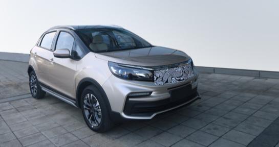 或將2020年上市,楓盛汽車首款SUV實照曝光