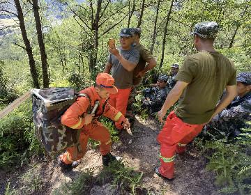 培训地方扑火队员活动