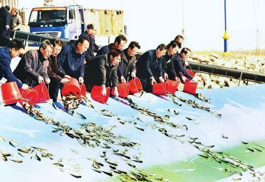 巴音朝魯在松原調研查干湖生態保護